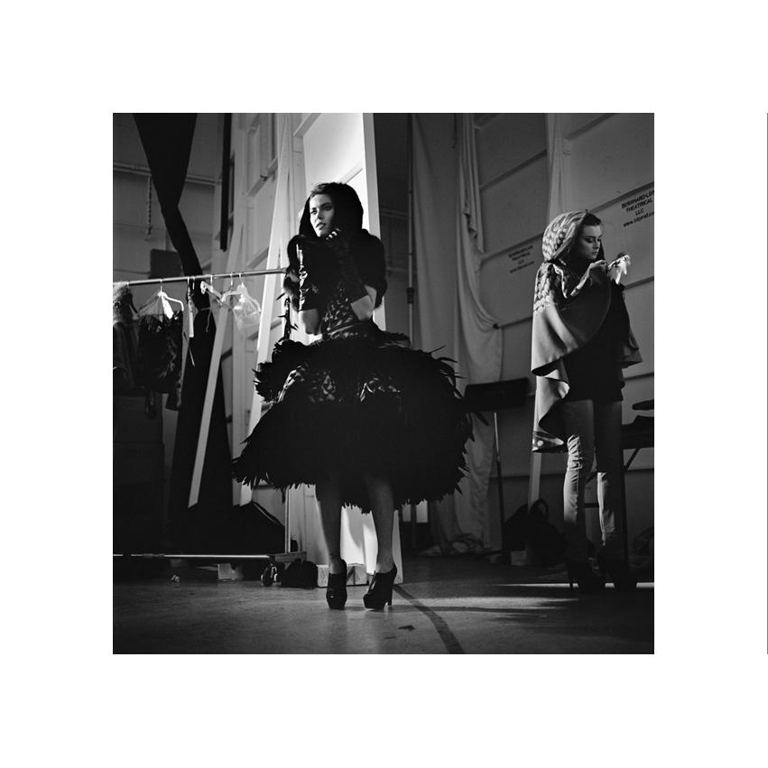 Collection Irina Shabayeva, Backstage, Fashion Week New York, feb. 2010