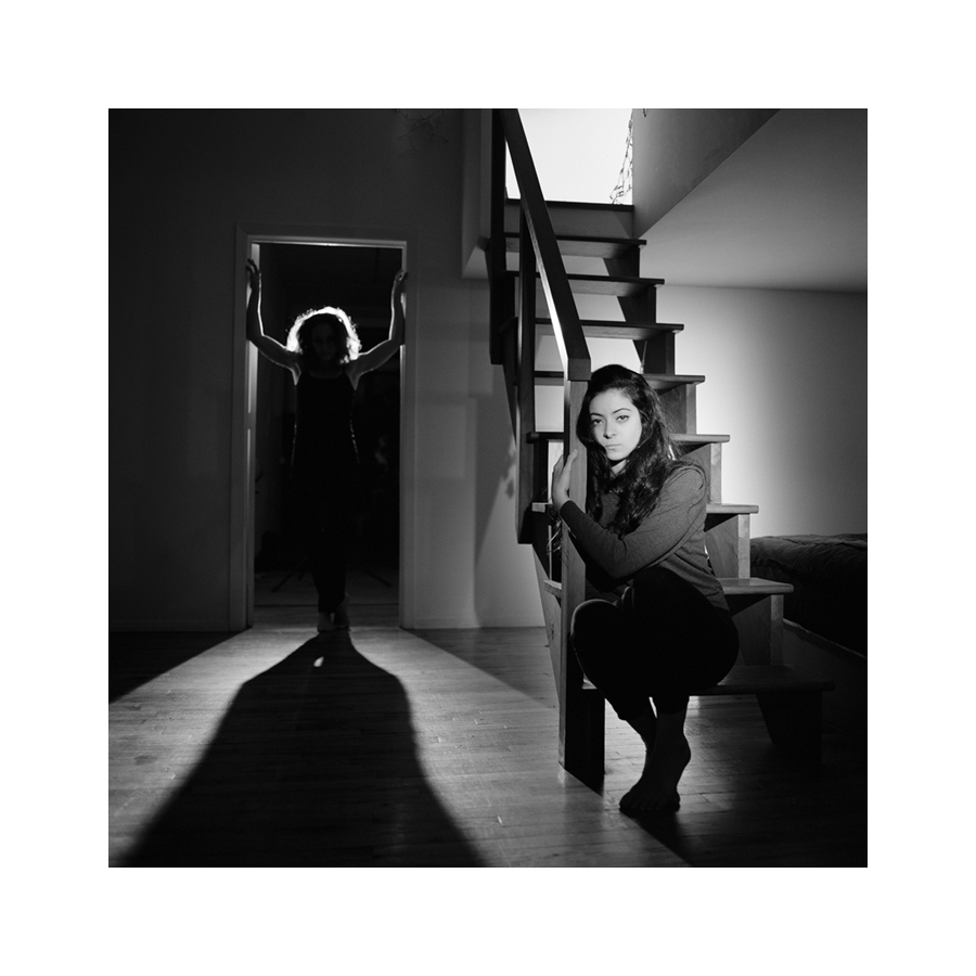 portraiture Jeanne & Emmanuelle linard
